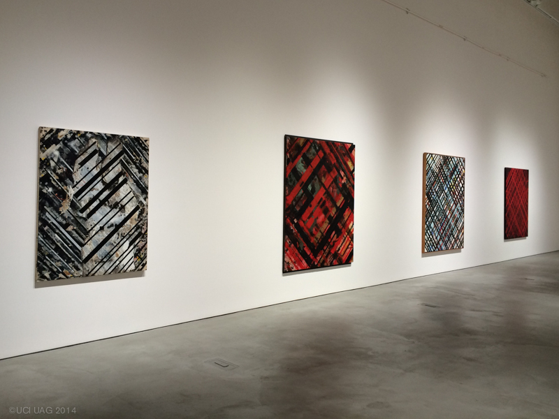 Ed Moses: Cross-Section, installation view ©UCI UAG 2014