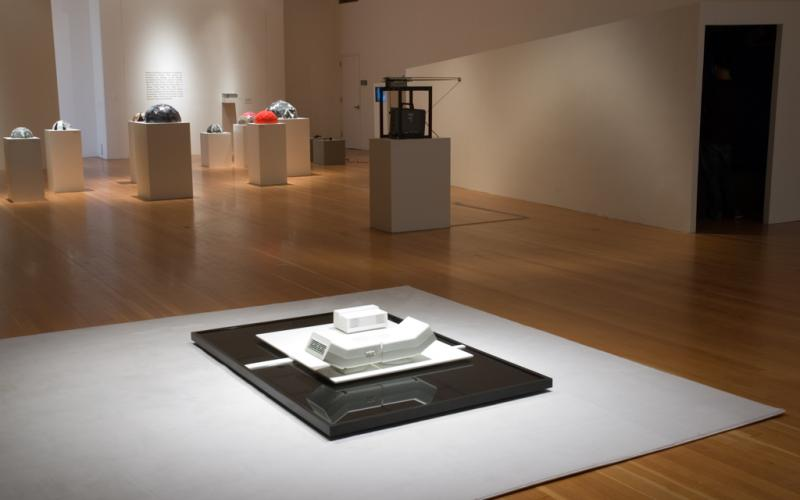 Image, Paradox and Practice: Architecture in the Wake of Conceptualism, Installation Detail