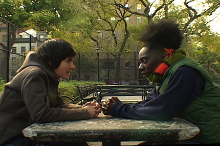 After Before, 2005, Performers: Kemba Bloodworth and Ewa Einhorn, video still.