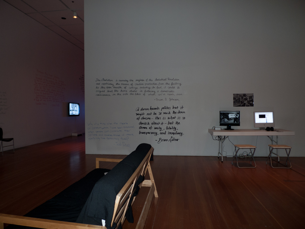 Video Dada Installation View