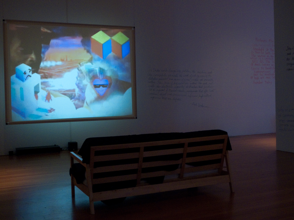 Video Dada Installation View