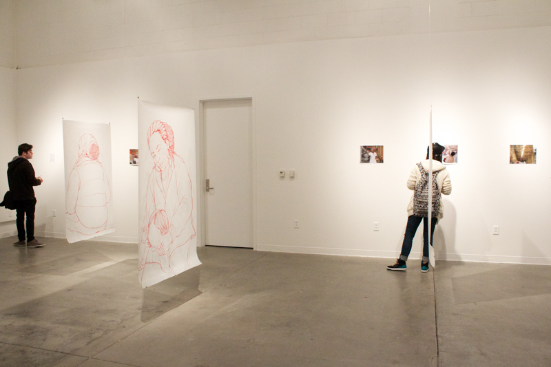 installation view, The Measure of All Things, 2014