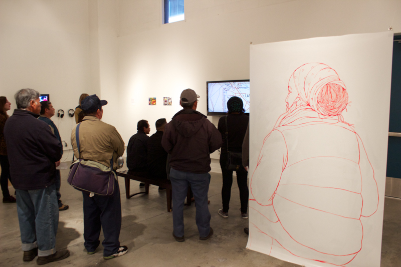 installation view, The Measure of All Things, 2014, photo Andrew McNeely