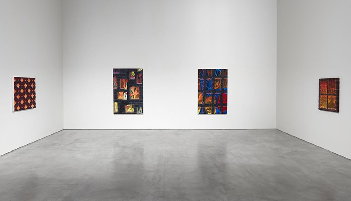 "Jackson Hunt, ""New American Paintings,""installation view, CAC Gallery, UC Irvine © 2020. Photo: Paul Salveson"