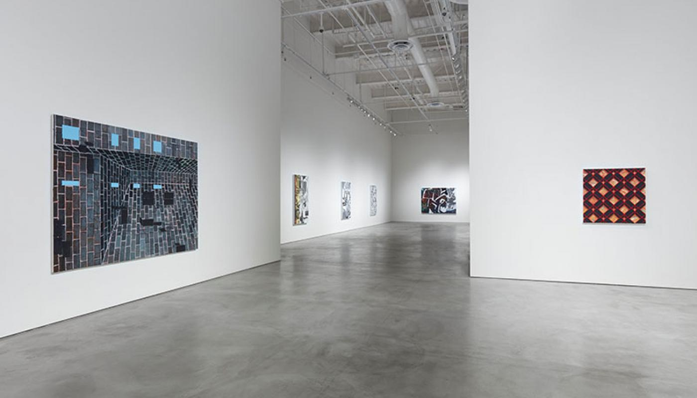 "Jackson Hunt, ""New American Paintings,"" installation view, CAC Gallery, UC Irvine © 2020. Photo: Paul Salveson"