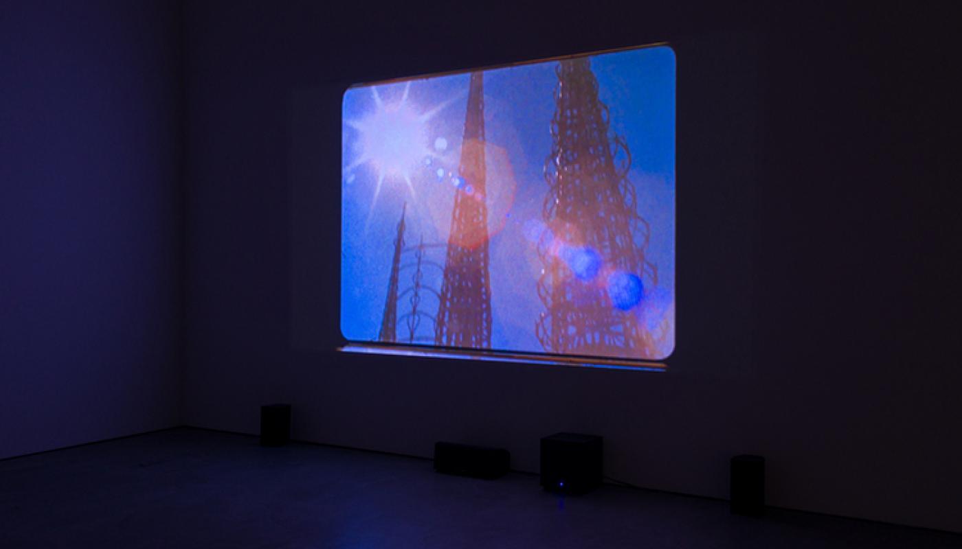 The Warplands, Cauleen Smith installation view © 2017 University Art Galleries, UC Irvine. Photo: Jeff McLane.
