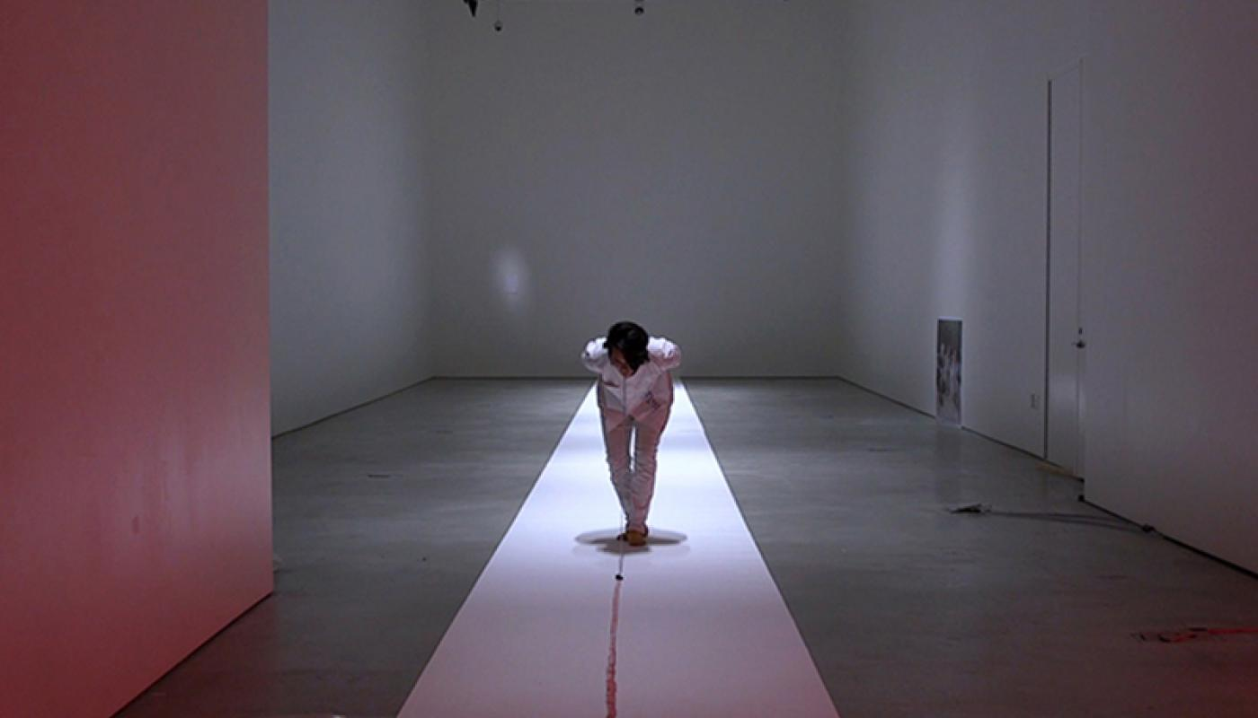 "Gabby Miller, ""Cixis"" installation view, CAC Gallery, UC Irvine © 2020. Photo: Sam Richardson"