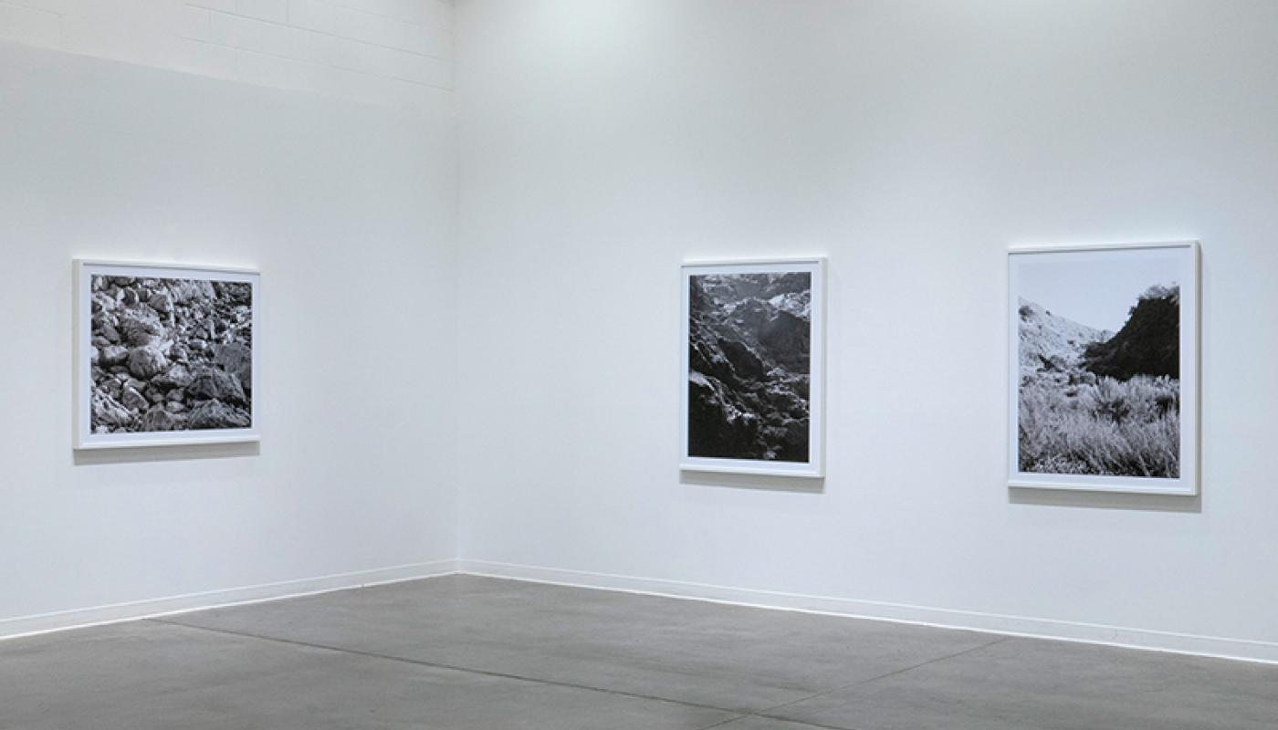 "Joaquin Palting, ""Origin[Redux],"" installation view, Room Gallery, UC Irvine © 2020. Photo: Paul Salveson"