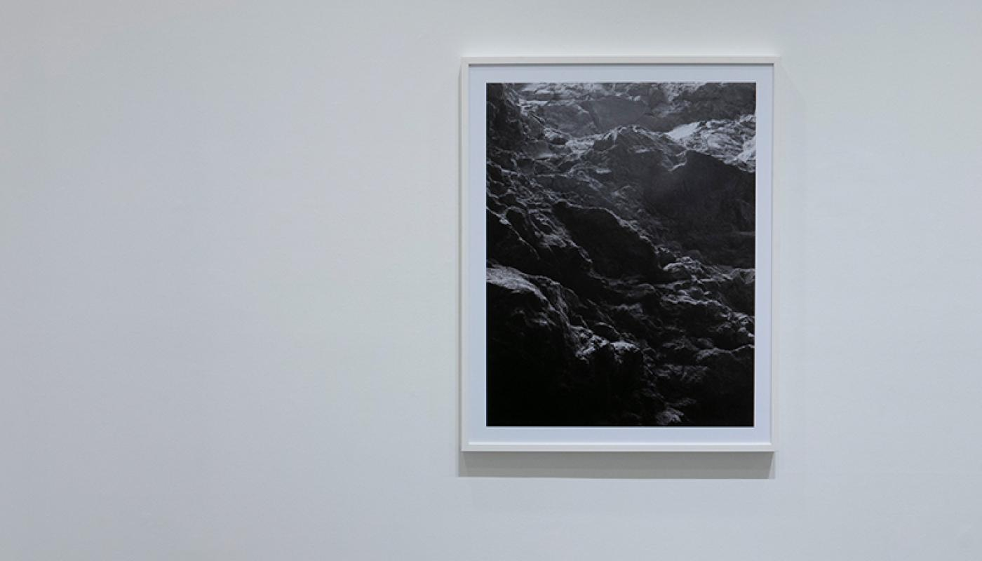 "Joaquin Palting, ""Origin[Redux],"" installation view, UC Irvine © 2020. Photo: Paul Salveson"
