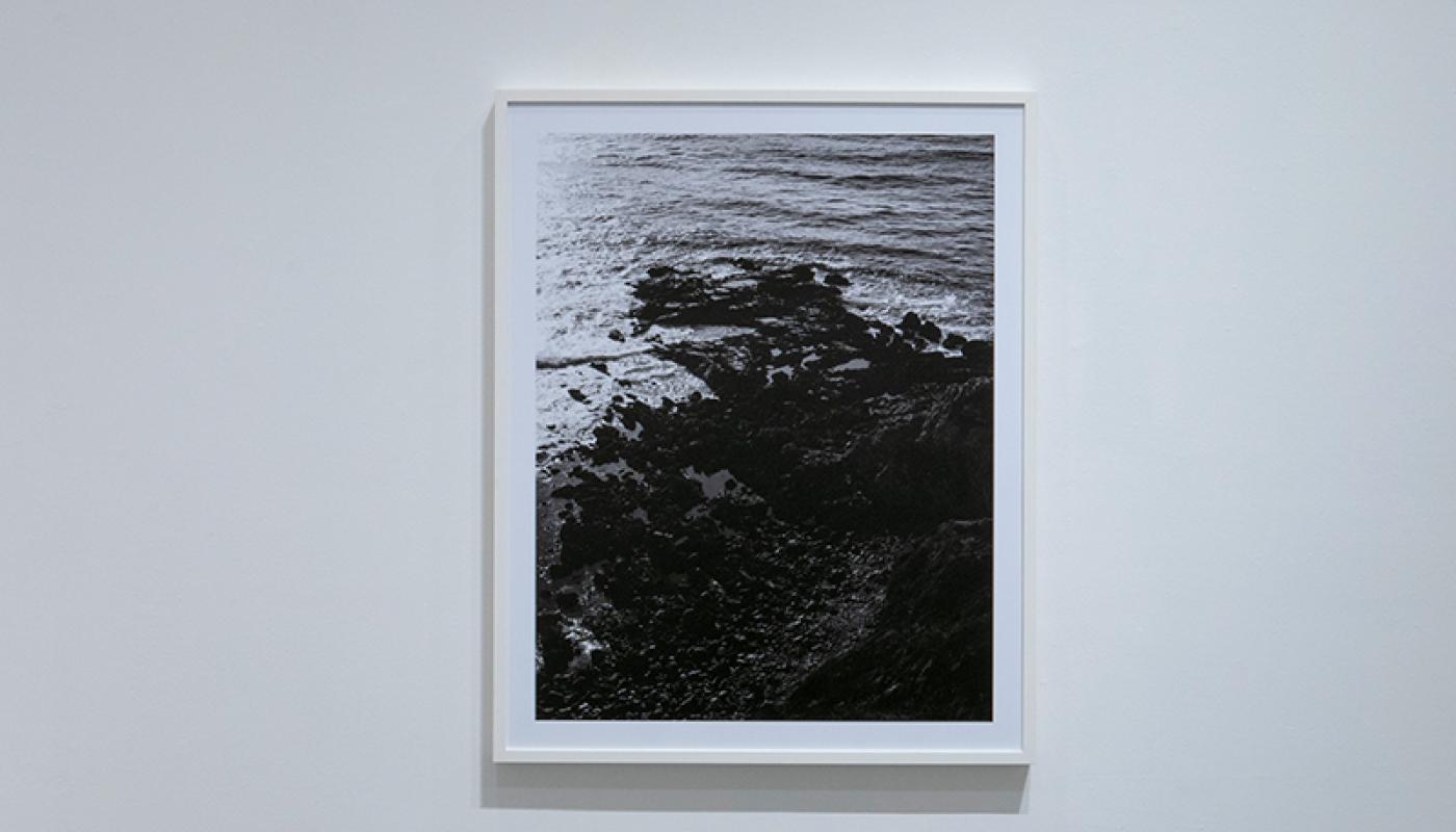 "Joaquin Palting, ""Origin[Redux],"" detail, Room Gallery, UC Irvine © 2020. Photo: Paul Salveson"