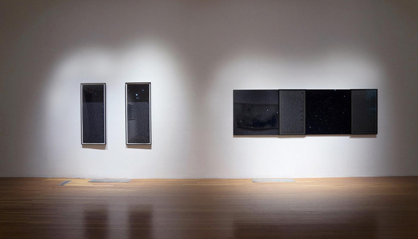 Paradox in Language, installation view, University Art Gallery, UC Irvine © 2015
