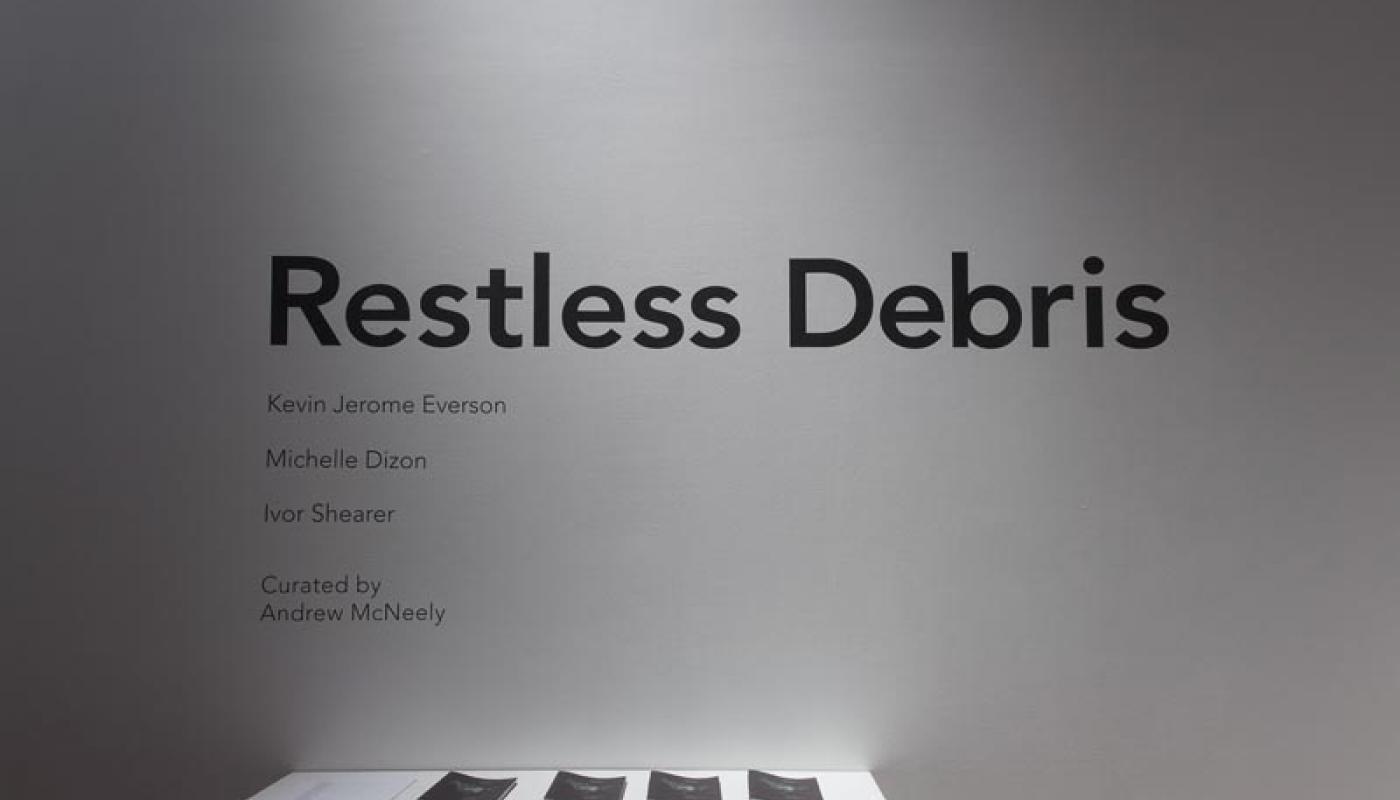 Restless Debris_Andrew McNeely_installation view
