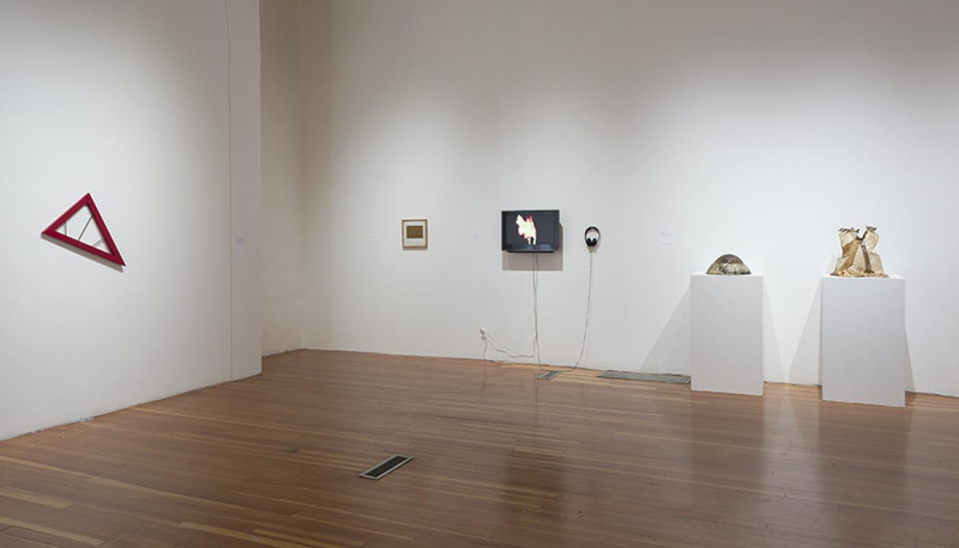 A Performative Trigger: Radicals of Irvine installation view © 2015 UCI UAG