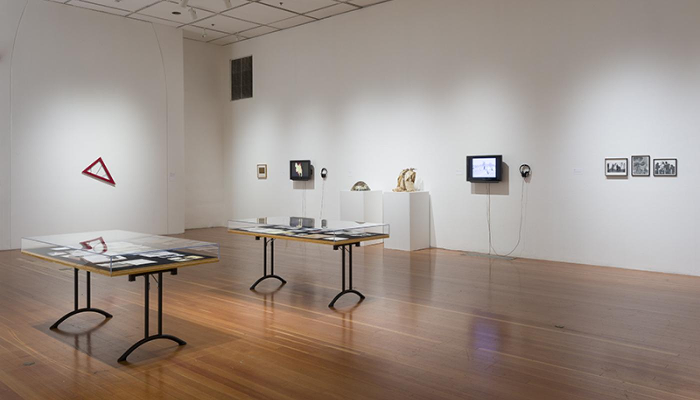A Performative Trigger: Radicals of Irvine_installation view