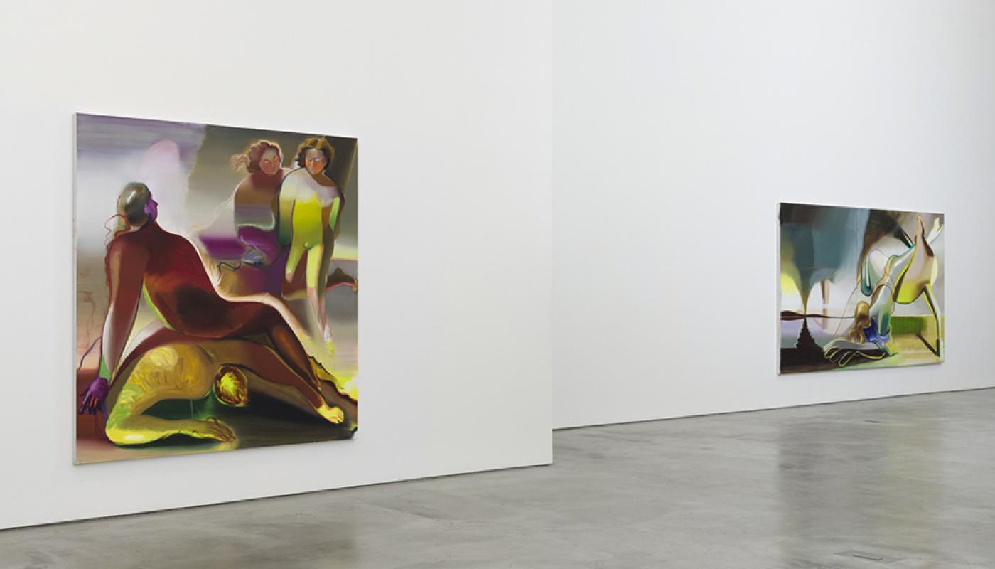 """Katherina Olschbaur: Dirty Elements"" installation view."