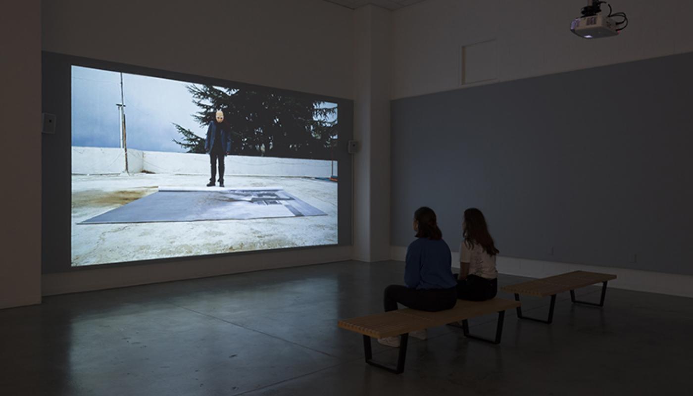 "Beirut Lab 1975(2020) installation view: Toni Geitani, ""The Disappearance of Goya,"" University Art Galleries, UC Irvine © 2019 Photo: Jeff McLane"