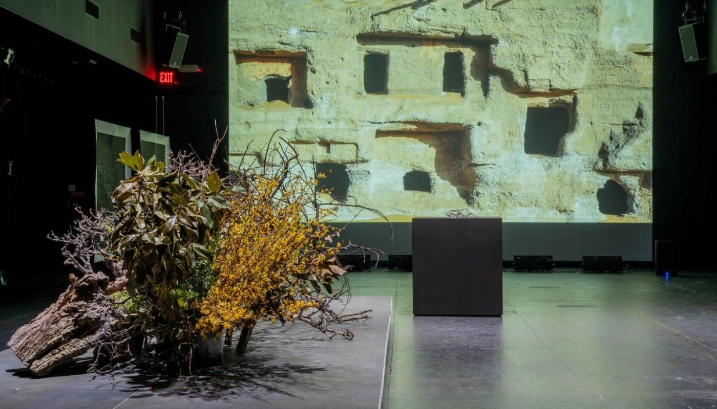 Towards a Raw Materialism, installation view, Experimental Media Performance Lab (xMPL). © 2021 Art