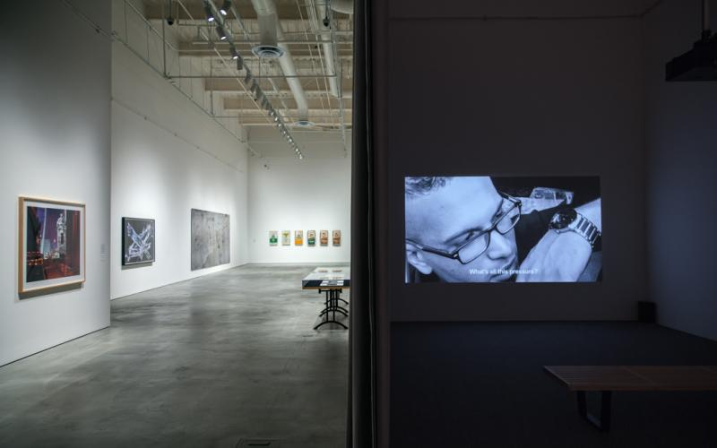 The Symbolic Landscape, installation view, CAC Gallery
