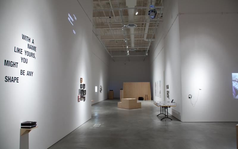 With a Name Like Yours... Installation View
