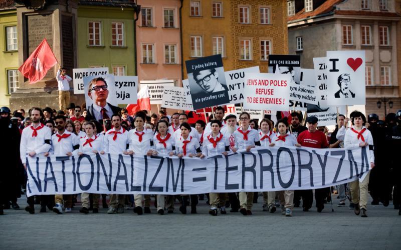Zamach (Assassination), 2011, video still