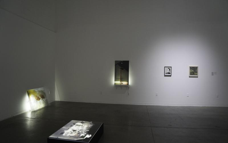 Form is the outline and structure of a thing, installation view,  ©2015