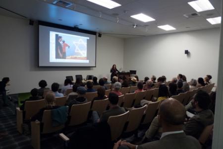 Image of conference speaker