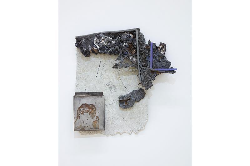 "Chris Warr, ""Tail of Tails"" installation view, University Art Gallery, UC Irvine © 2020. Photo: Paul Salveson"