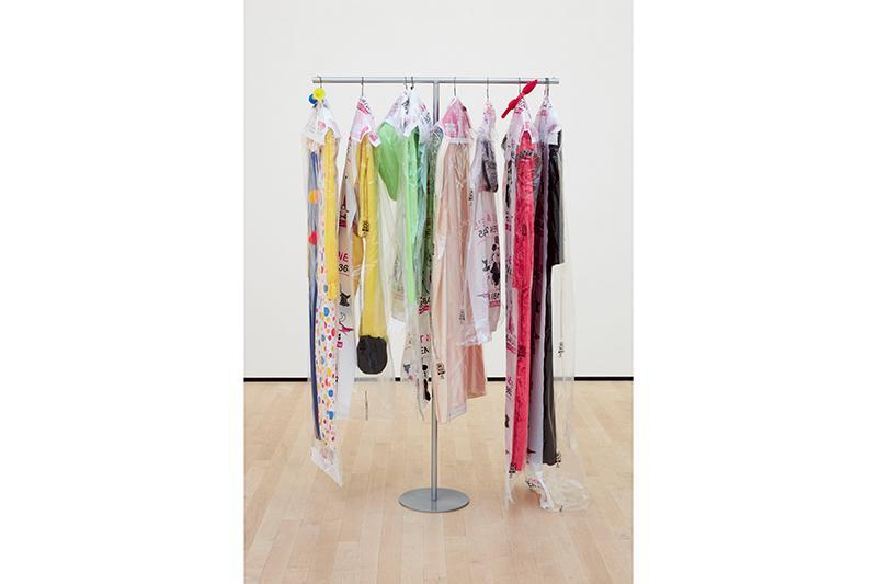 "Ellen Schafer, ""Adult Costume,""installation view, University Art Gallery, UC Irvine © 2020. Photo: Paul Salveson."