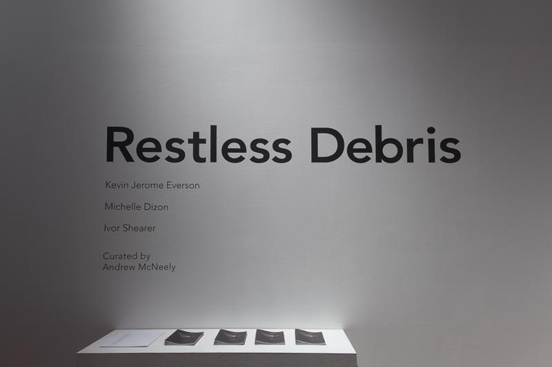 Restless Debris_Andrew McNeely_installation view