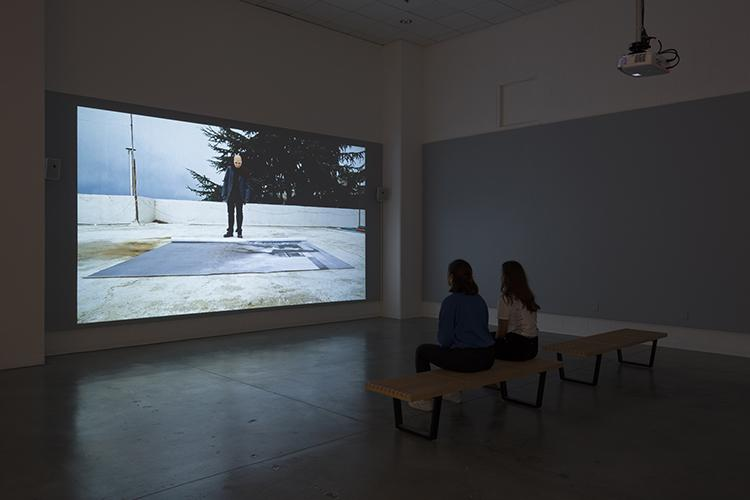 "Beirut Lab 1975(2020) installation view: Toni Geitani, ""The Disappearance of Goya,"" University Art Galleries, UC Irvine © 2019 Photo: Jeff McLane"