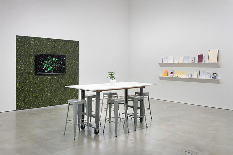 Matters of Time installation view, University Art Galleries, UC Irvine © 2018 Photo: Robert Wedemeyer