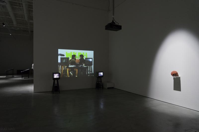 K8 Hardy - New Cuts installation view © 2015 UCI UAG